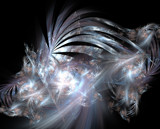 Chrome Dragons by wintermoon, Abstract->Fractal gallery
