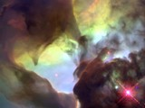 Giant Twisters in the Lagoon Nebula by edahs, space gallery