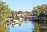 Echuca Wharf From Up... by flanno2610