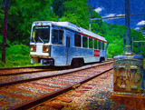 Trolley by Kevin_Hayden, Illustrations->Traditional gallery