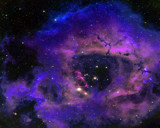 The Rosette Nebula by NASA, space gallery