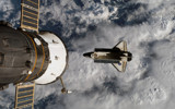 STS-117 Departure by philcUK, space gallery