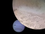 Neptune and Triton by Crusader, space gallery