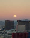 The Moon in Vegas by KT11109, Photography->Sunset/Rise gallery
