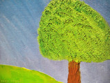 Tree In The Field by Kevin_Hayden, Illustrations->Traditional gallery